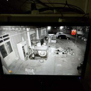 润生园小区临时增加2个监控摄像
